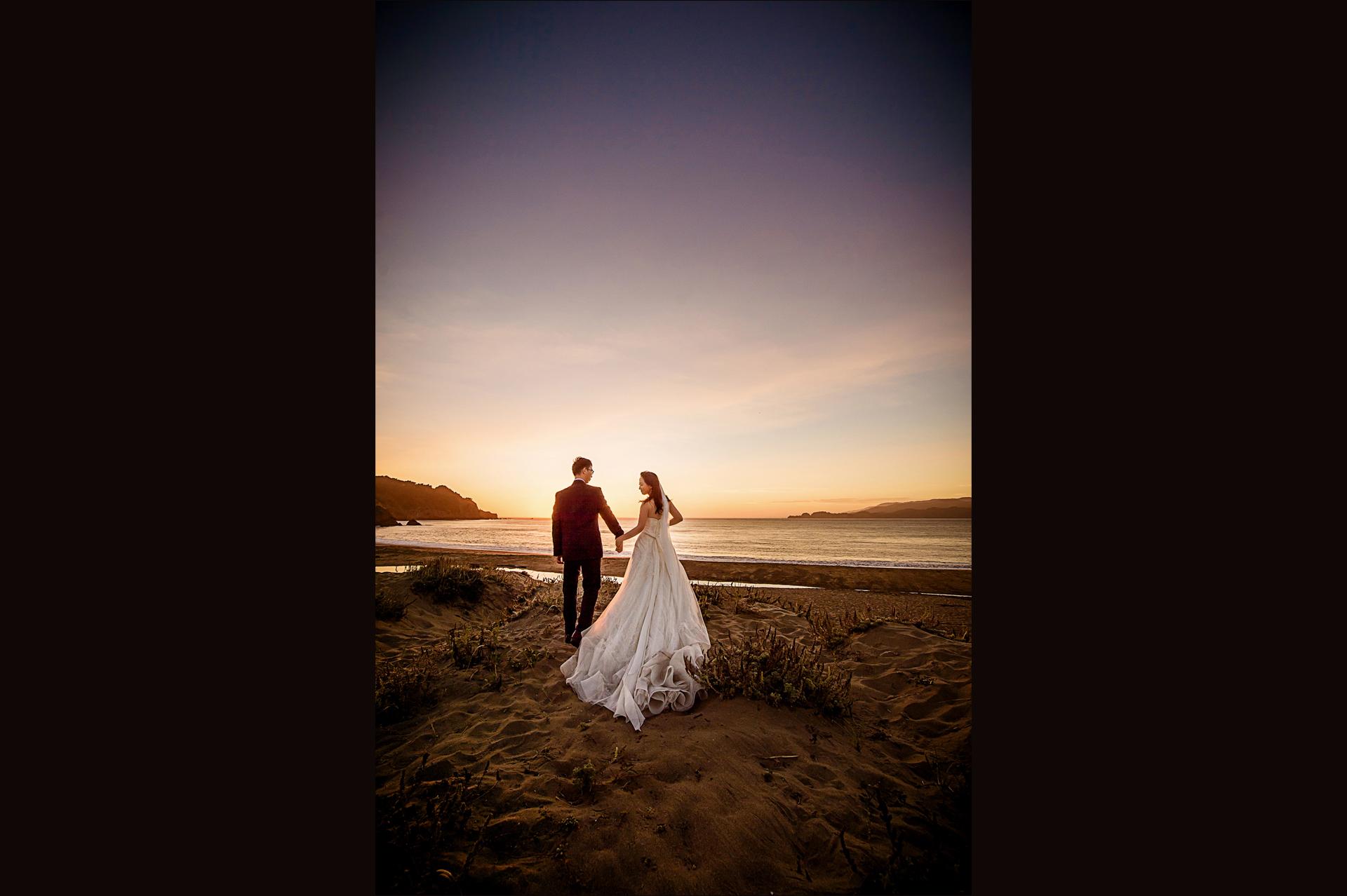 旧金山湾区婚纱大片