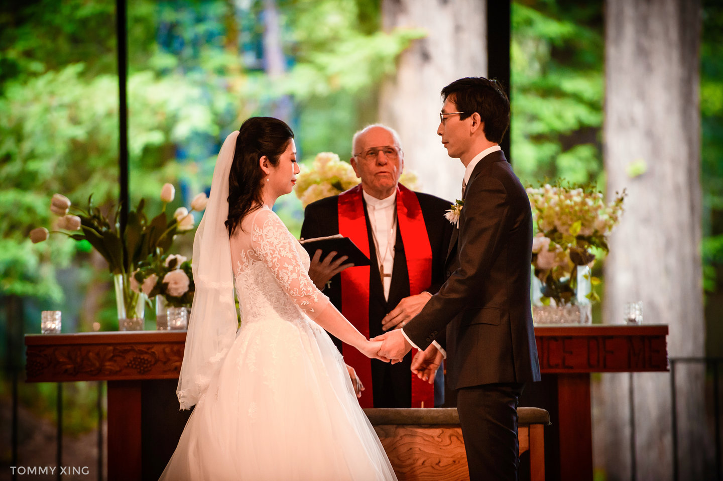 San Francisco Wedding Photography Valley Presbyterian Church WEDDING Tommy Xing Photography 洛杉矶旧金山婚礼婚纱照摄影师083.jpg