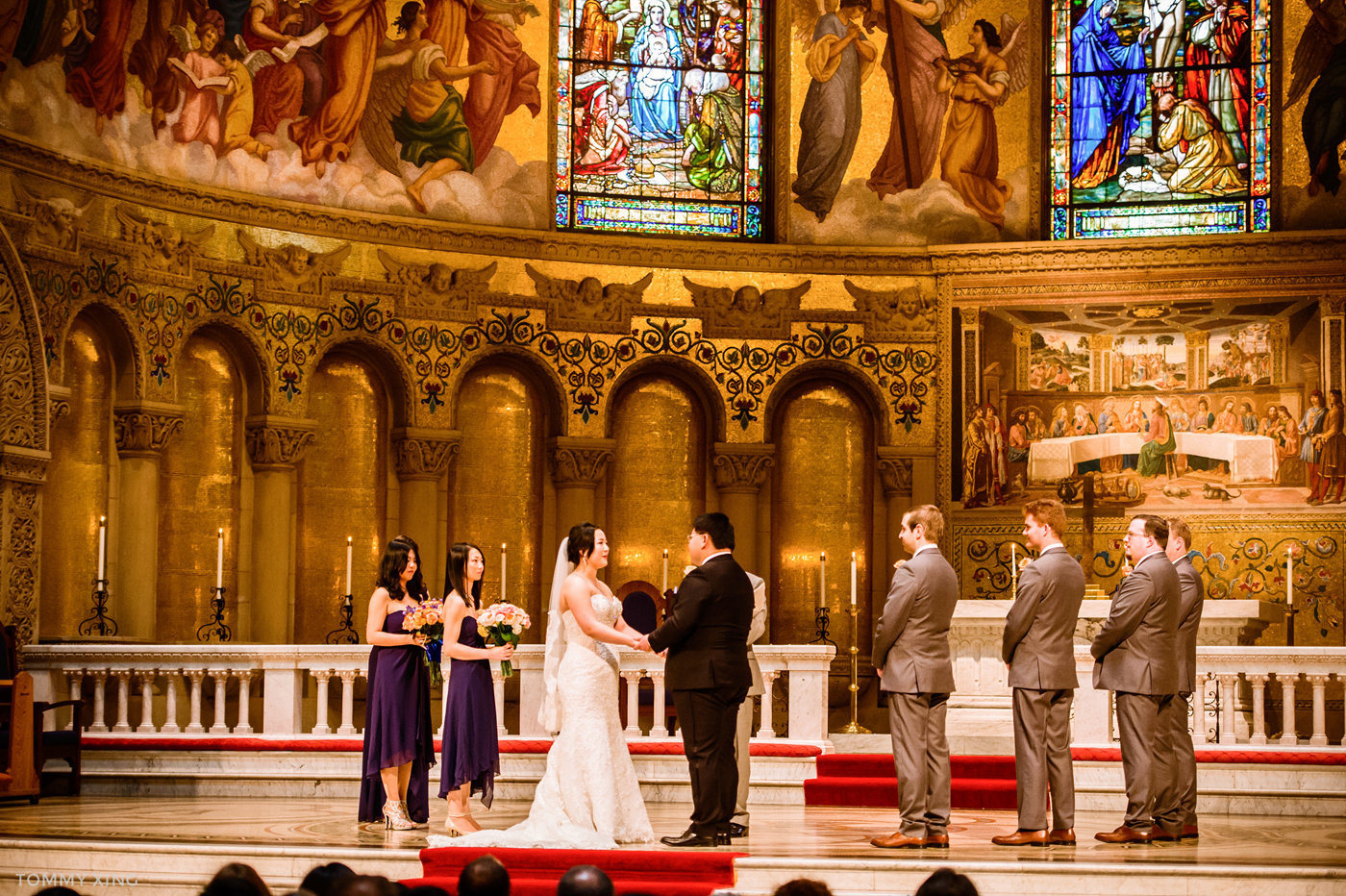 STANFORD MEMORIAL CHURCH WEDDING - Wenjie & Chengcheng - SAN FRANCISCO BAY AREA 斯坦福教堂婚礼跟拍 - 洛杉矶婚礼婚纱照摄影师 Tommy Xing Photography101.jpg