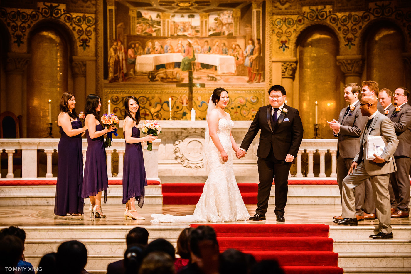 STANFORD MEMORIAL CHURCH WEDDING - Wenjie & Chengcheng - SAN FRANCISCO BAY AREA 斯坦福教堂婚礼跟拍 - 洛杉矶婚礼婚纱照摄影师 Tommy Xing Photography112.jpg