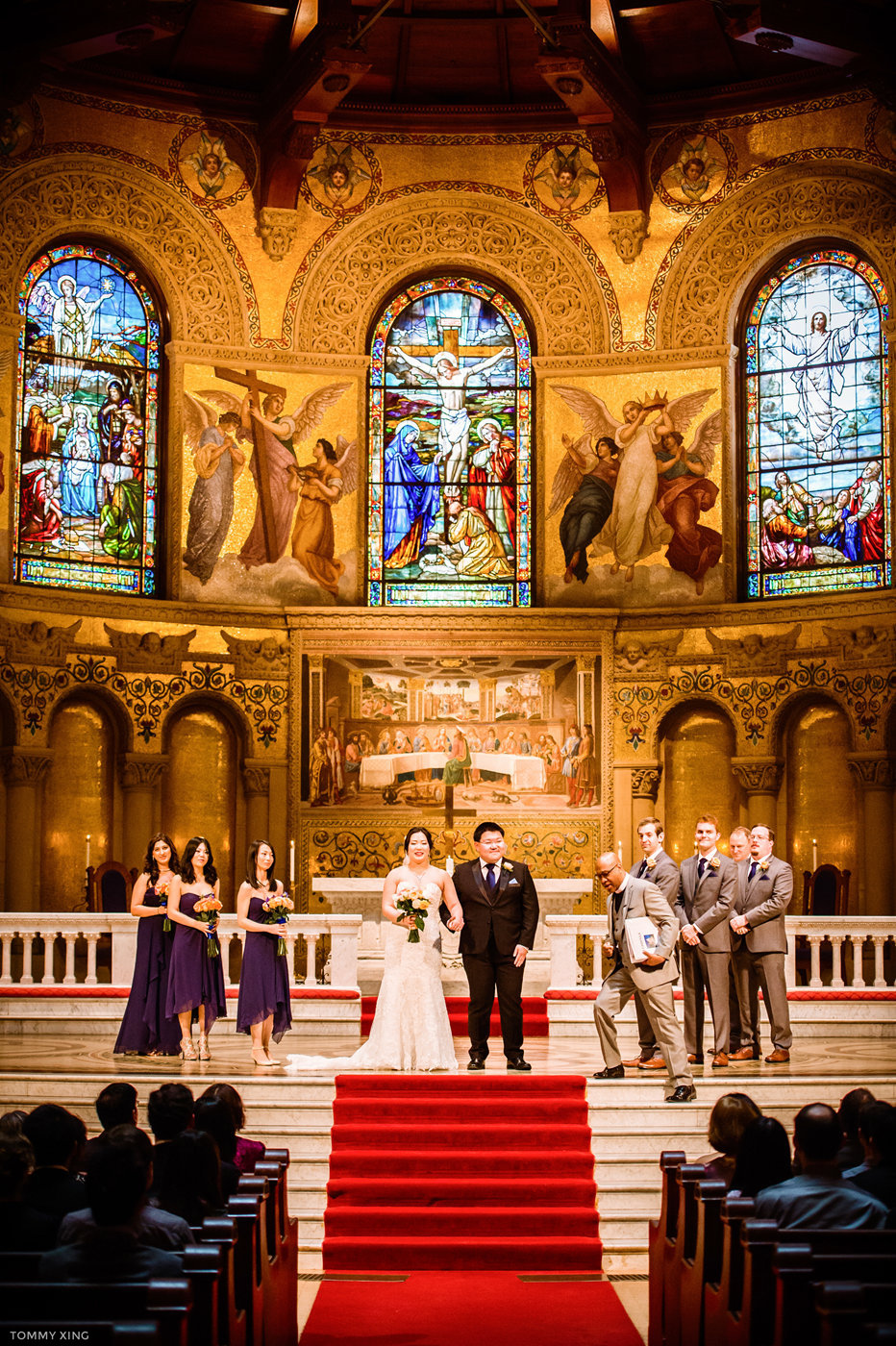 STANFORD MEMORIAL CHURCH WEDDING - Wenjie & Chengcheng - SAN FRANCISCO BAY AREA 斯坦福教堂婚礼跟拍 - 洛杉矶婚礼婚纱照摄影师 Tommy Xing Photography113.jpg