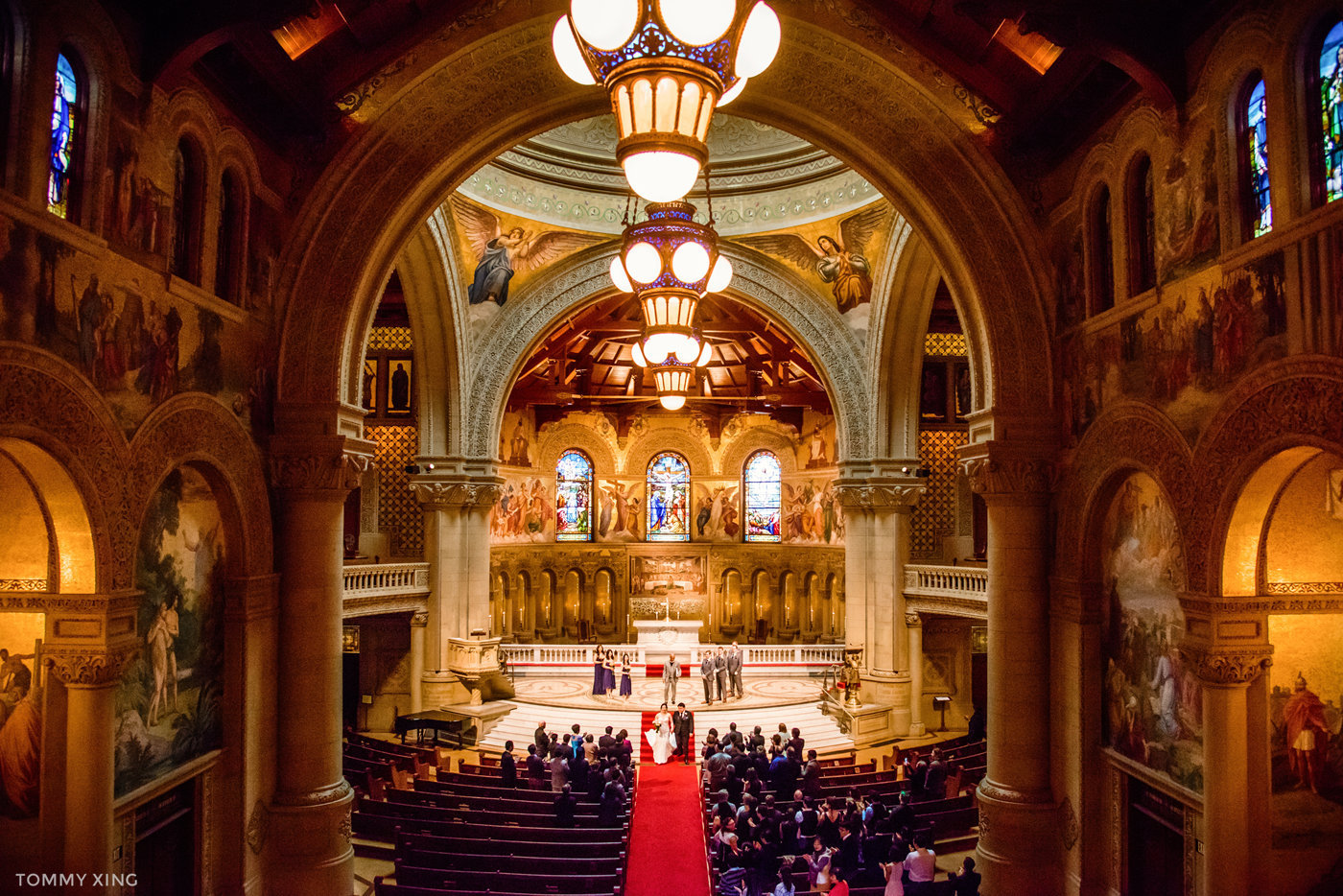 STANFORD MEMORIAL CHURCH WEDDING - Wenjie & Chengcheng - SAN FRANCISCO BAY AREA 斯坦福教堂婚礼跟拍 - 洛杉矶婚礼婚纱照摄影师 Tommy Xing Photography119.jpg