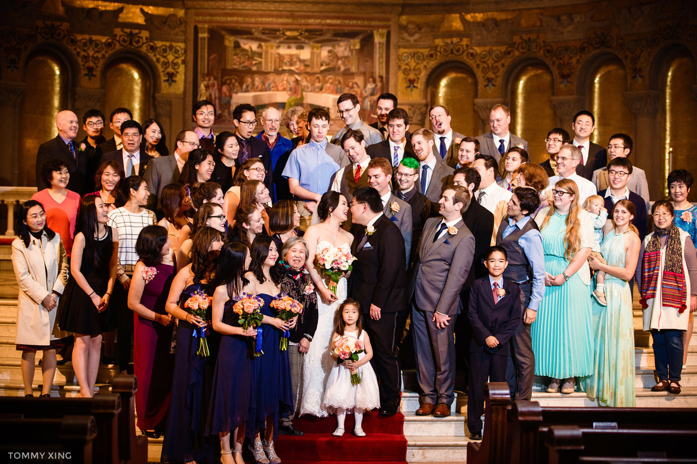 STANFORD MEMORIAL CHURCH WEDDING - Wenjie & Chengcheng - SAN FRANCISCO BAY AREA 斯坦福教堂婚礼跟拍 - 洛杉矶婚礼婚纱照摄影师 Tommy Xing Photography136.jpg