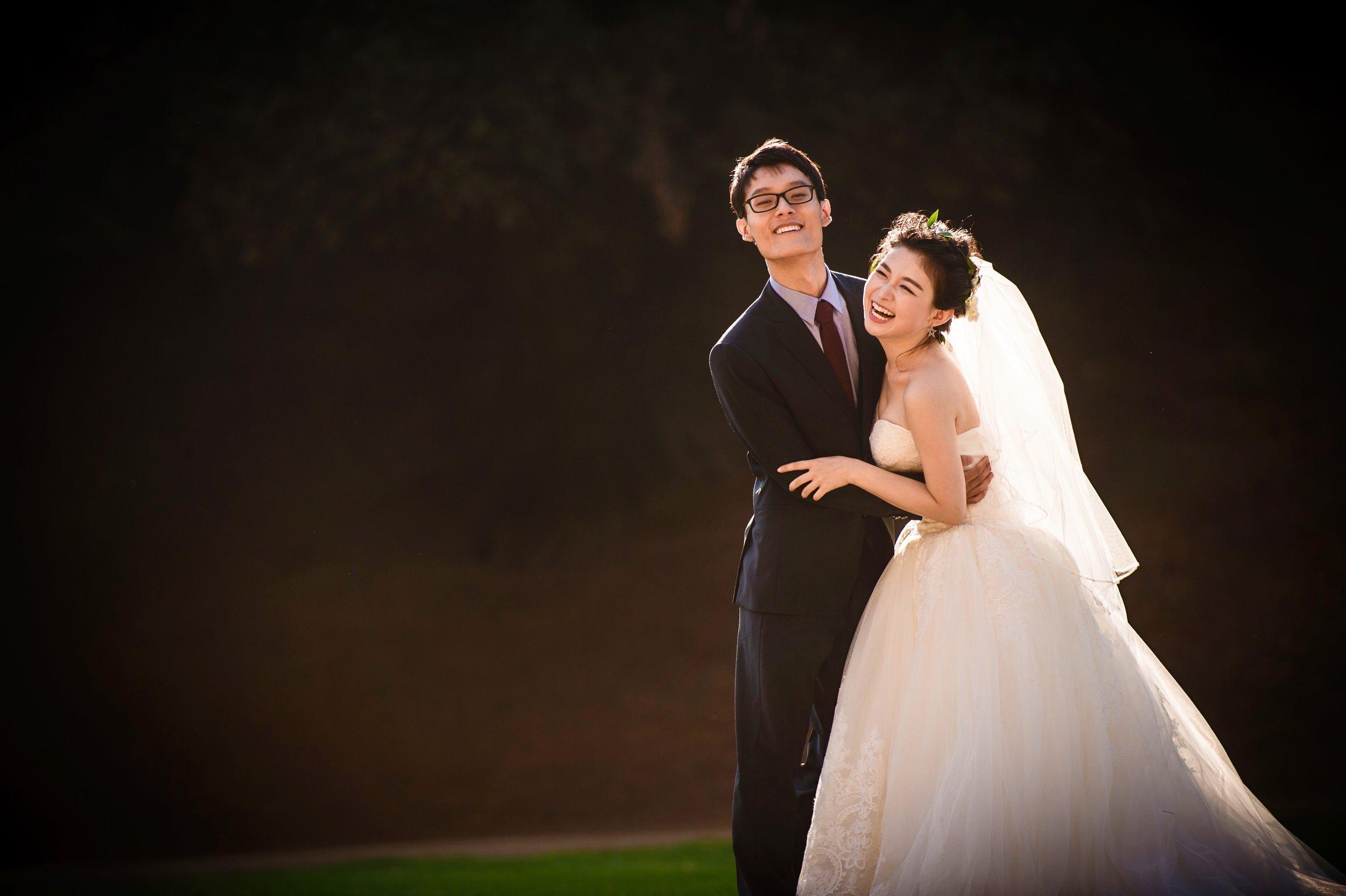 洛杉矶 los angeles griffith park pre wedding 婚纱照