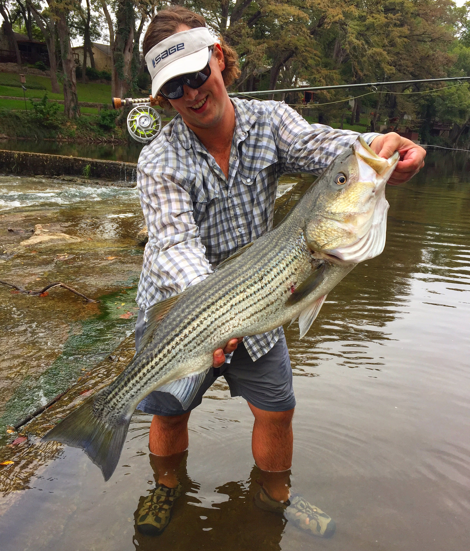 Guadalupe River Striper