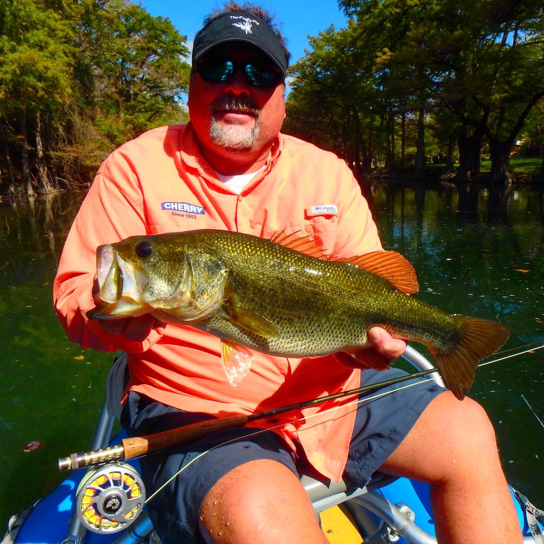 Texas Bass on the fly