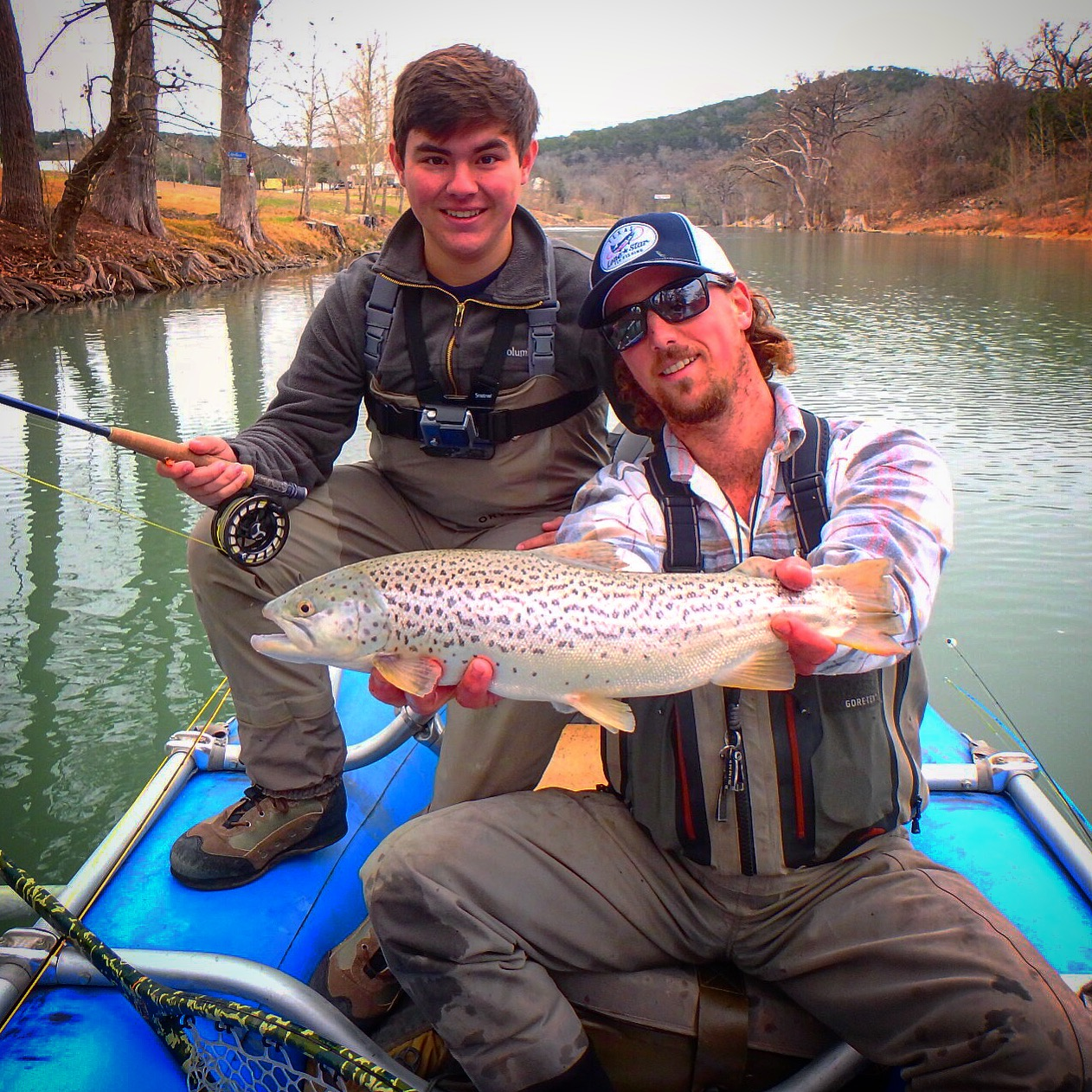 Guadalupe River Brown Trout