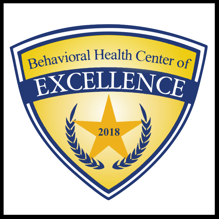 Behavior Health Center of Excellence - A Prestigious Distinction.