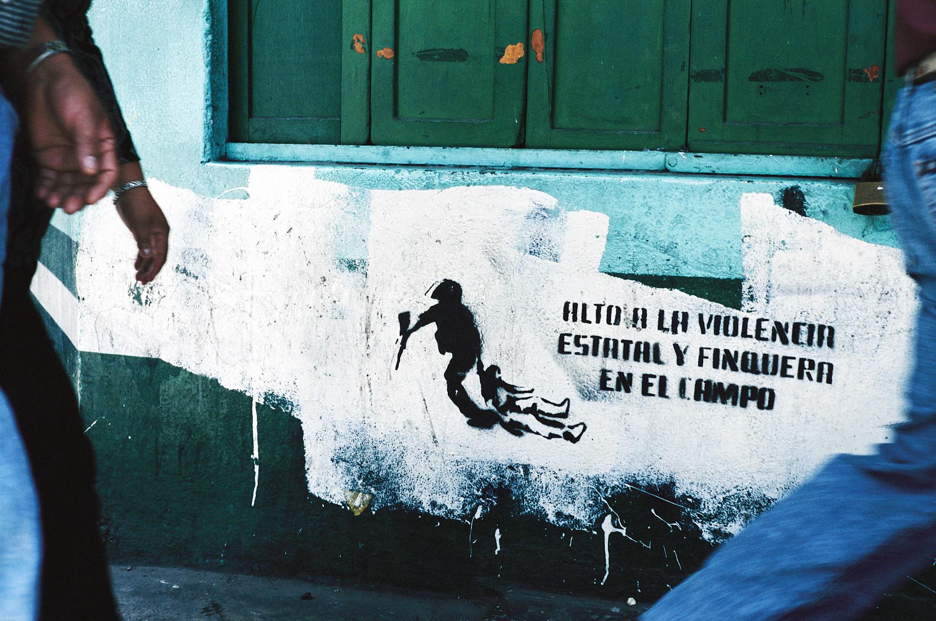 Remnants of the war, El Salvador.