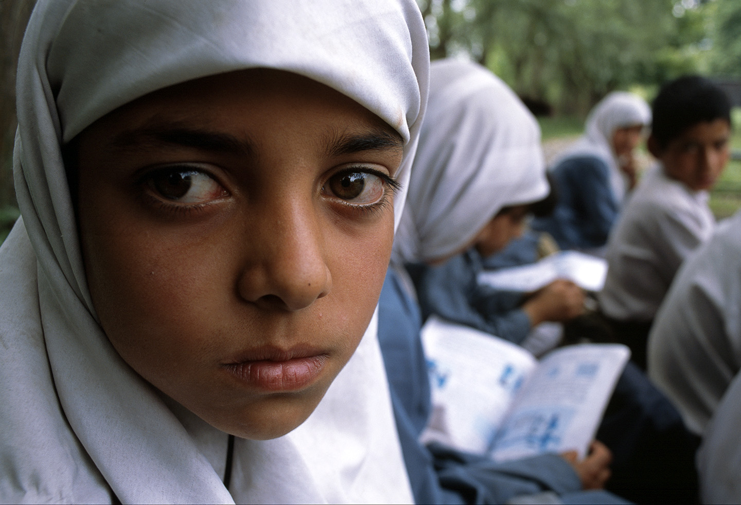 Growing up in a conflict zone, Kashmir.
