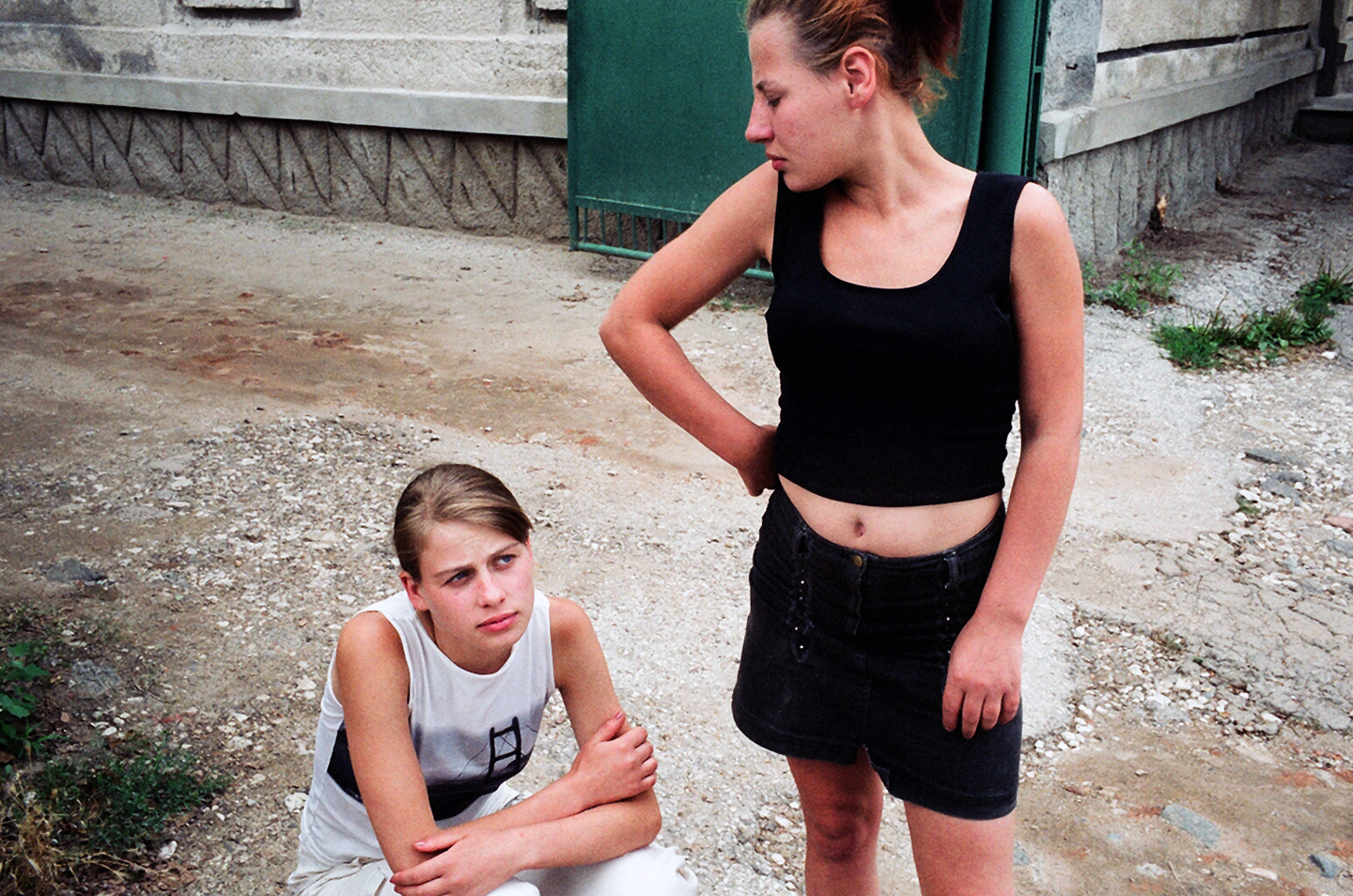 """Trafficked sisters. From """"The Price of Sex"""" reportage."""