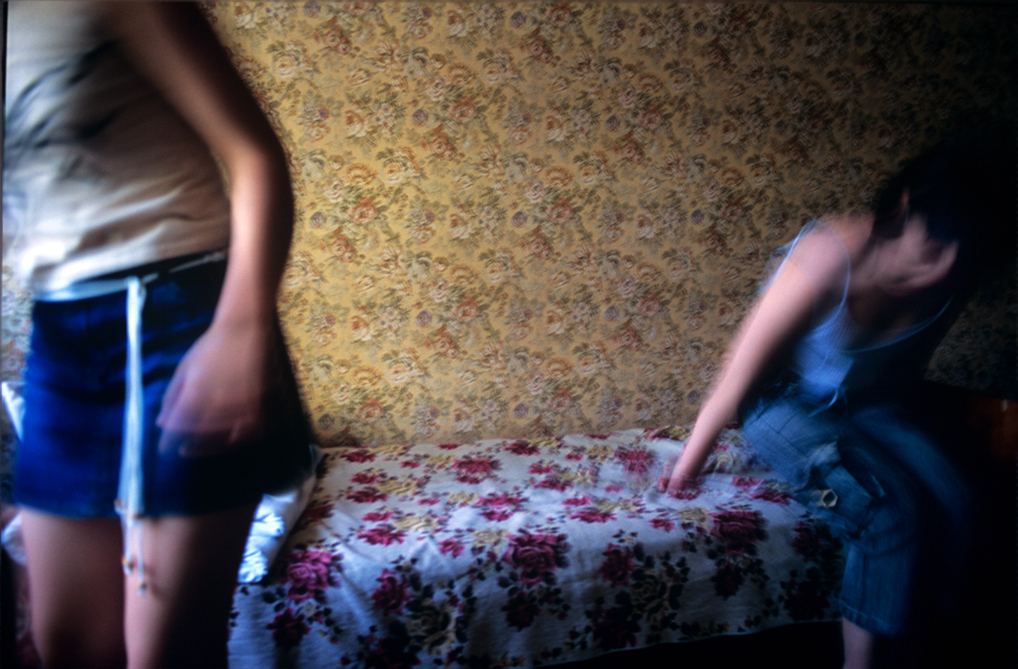 """A secret shelter for trafficked women, Chisinau, Moldova. From """"The Price of Sex"""" reportage."""