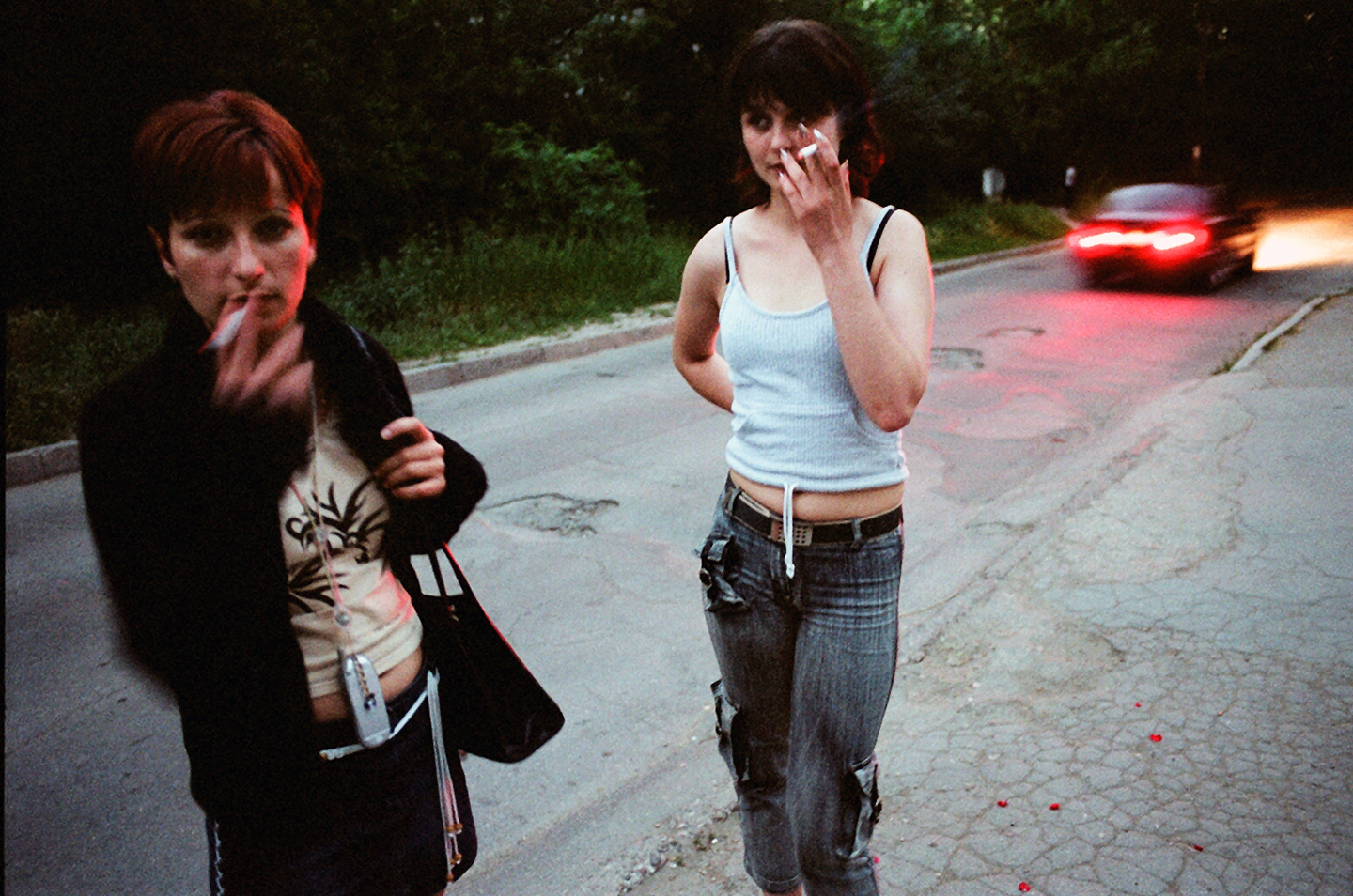 """Olesea and Vika. From """"The Price of Sex"""" reportage."""