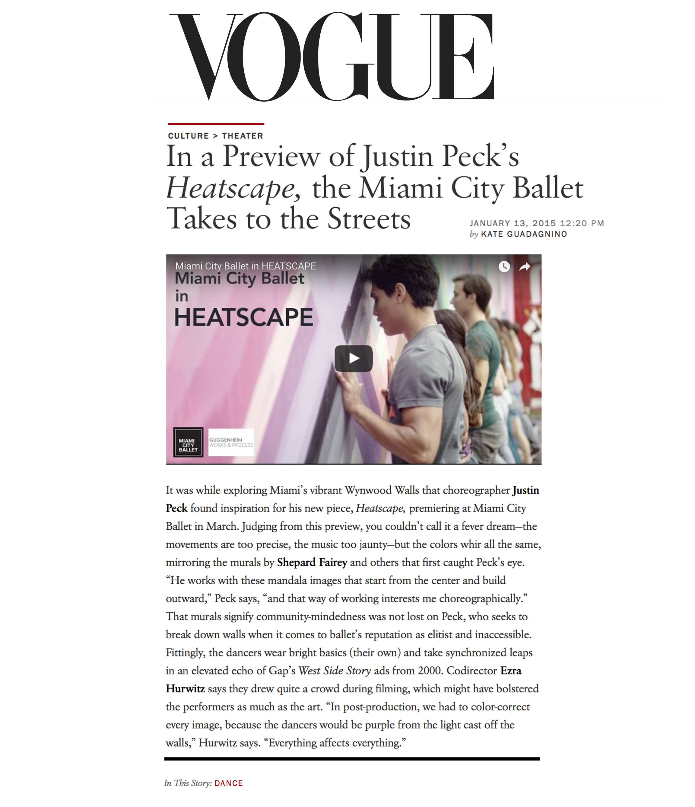 See the article on Vogue.com