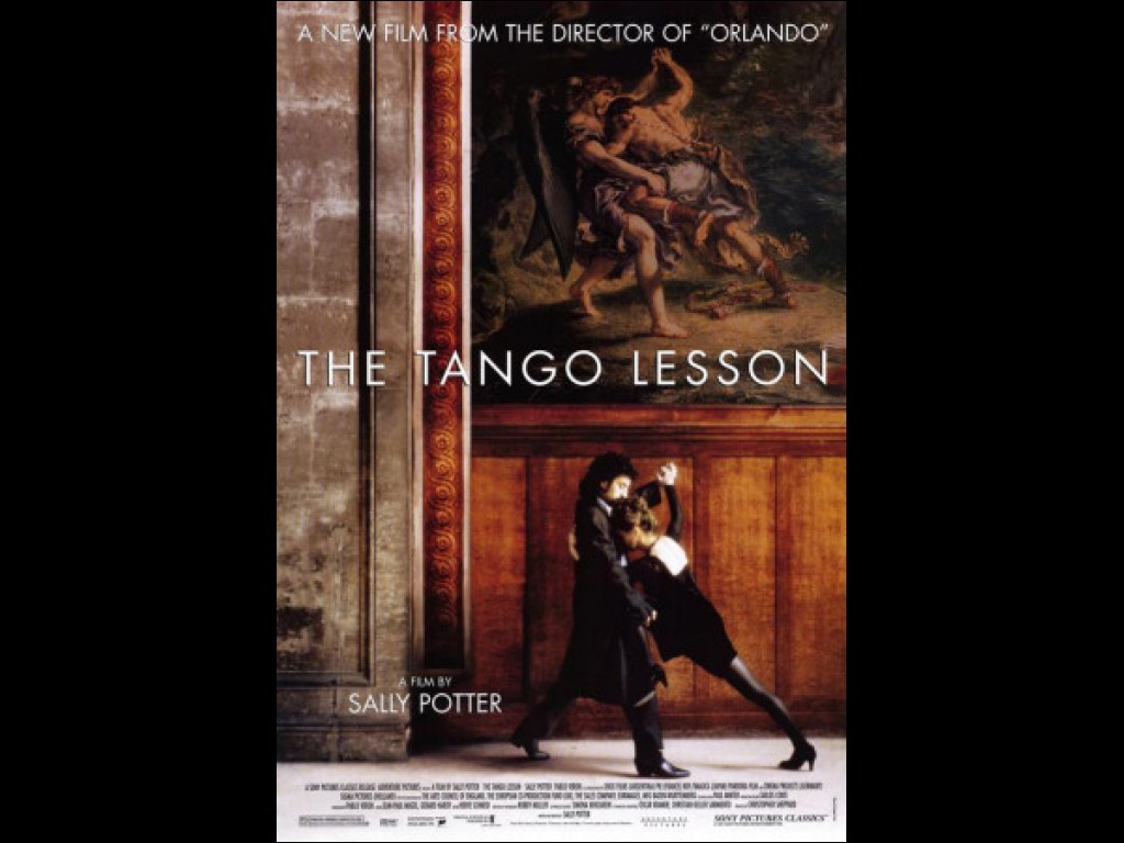 """Movie poster from Director Sally Potter's """"The Tango Lesson."""" Courtesy of:http://alchetron.com/The-Tango-Lesson-28311-W"""