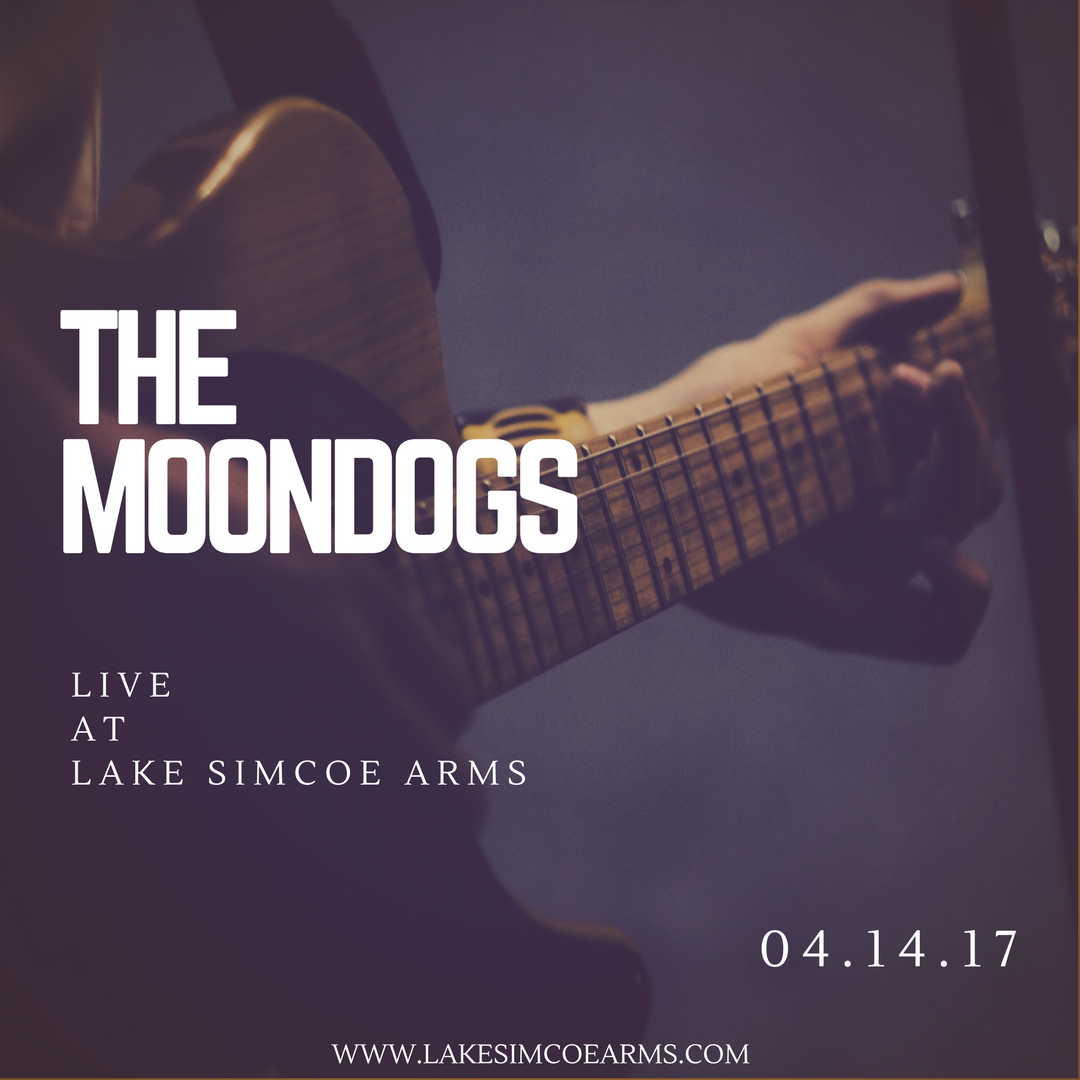 Friday, April 14th - The Moondogs