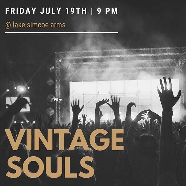 Vintage Souls tonight @ 9 #livemusic #entertainment #lakesimcoe #thearms #jacksonspoint #lakesimcoearms #goodfood #beer #pub #summer #vintagesouls
