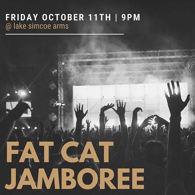 #entertainment #livemusic #lakesimcoe #lakesimcoearms #thearms #tgif #goodfood #fatcatjamboree