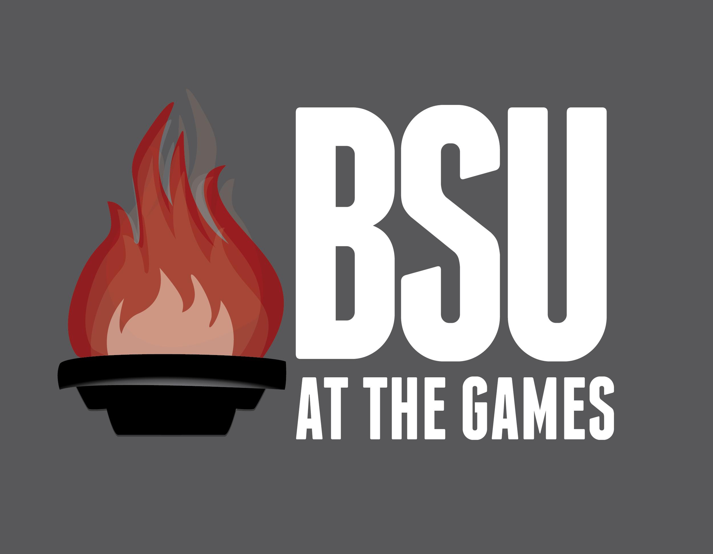 BSU at the Games Logo - 2