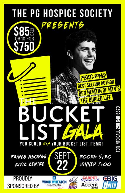 The Bucket List Gala