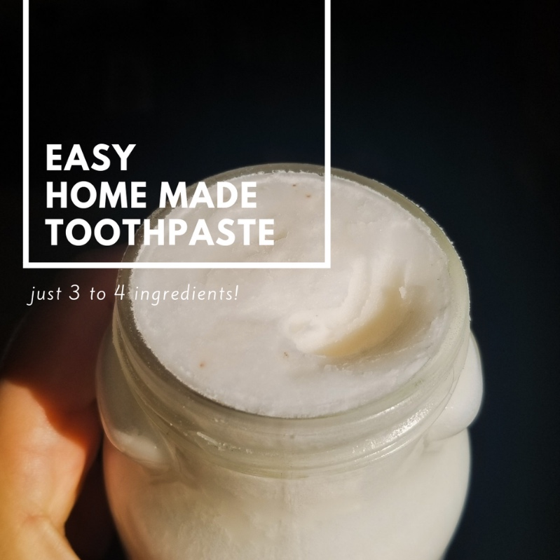 MAKE YOUR OWN - Whenever I run out of my store bought toothpaste I use baking soda and rinse with coconut oil. I decided to combine the two for every day use. The recipe below was easy and will last you.Feel free to modify this recipe to suit your needs. Here's what I did..
