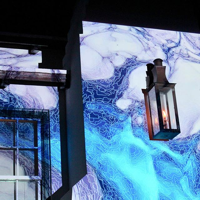 @dgalysbeach @unsplash #photography #projection #digitalgraffiti #art #textures #blue #building #night #projectionmapping #digitalart #dgalysbeach #alysbeach