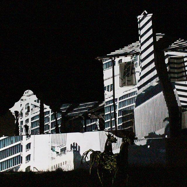 @dgalysbeach @unsplash #photography #projection #digitalgraffiti #art #shadows #white #building #night #projectionmapping #digitalart #dgalysbeach #alysbeach