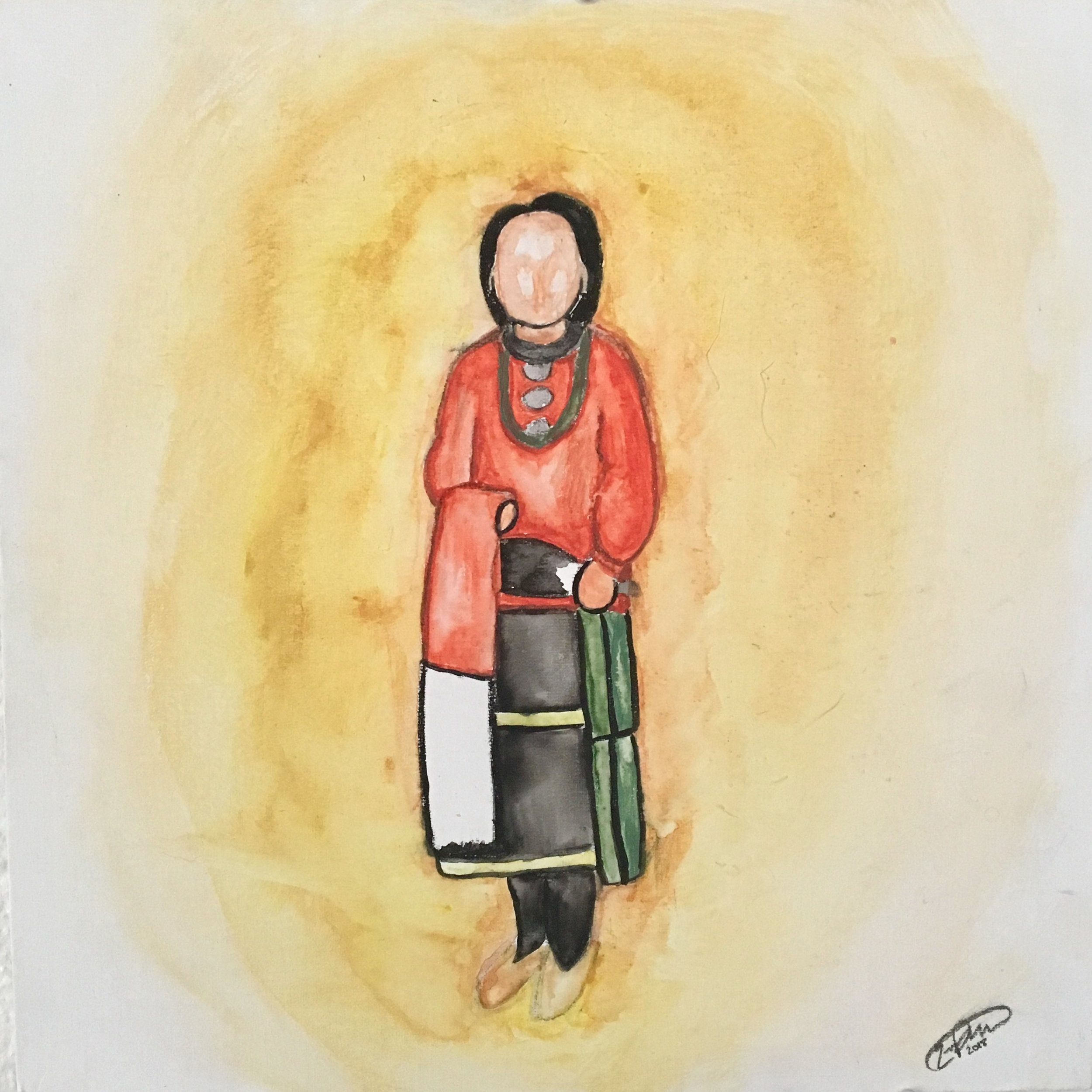 """Thunder Clan Woman"" - Portrait of my mother 