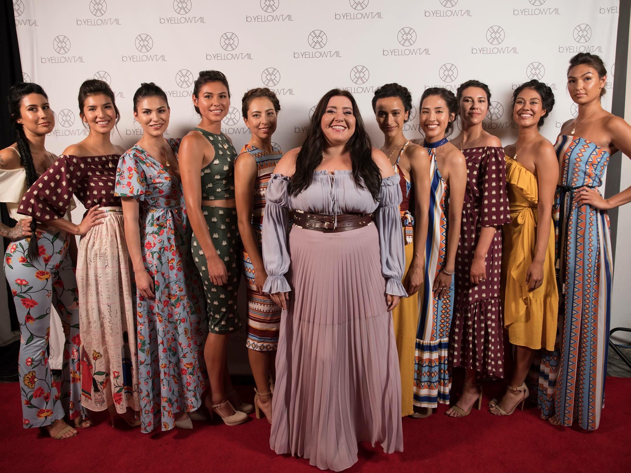 Bethany Yellowtail Fashion Show | Hollywood, California | 2017