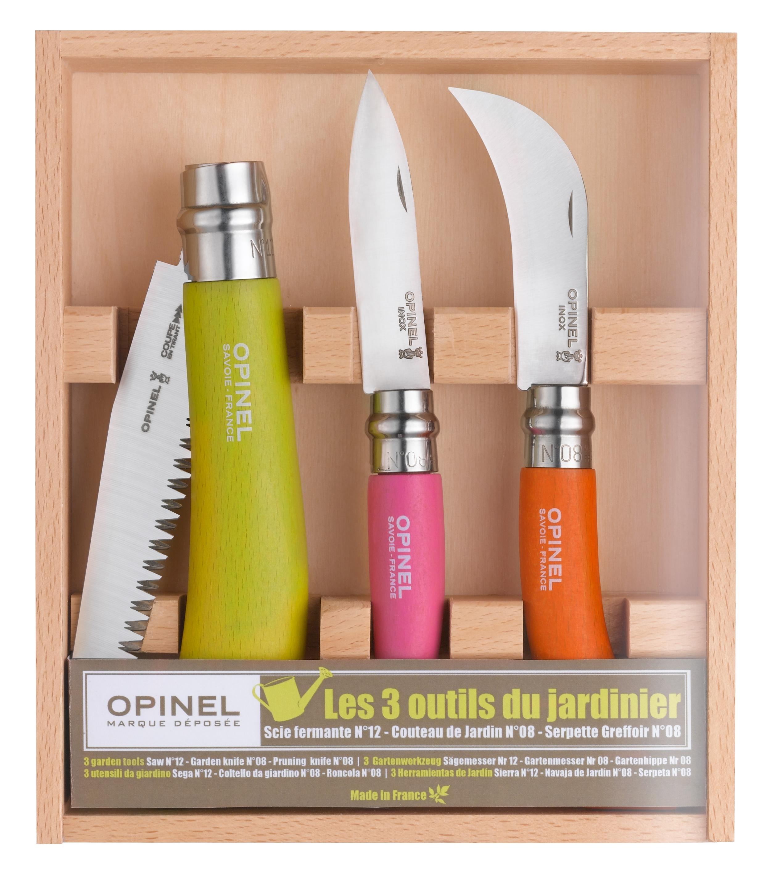 Best garden knife set by Opinel