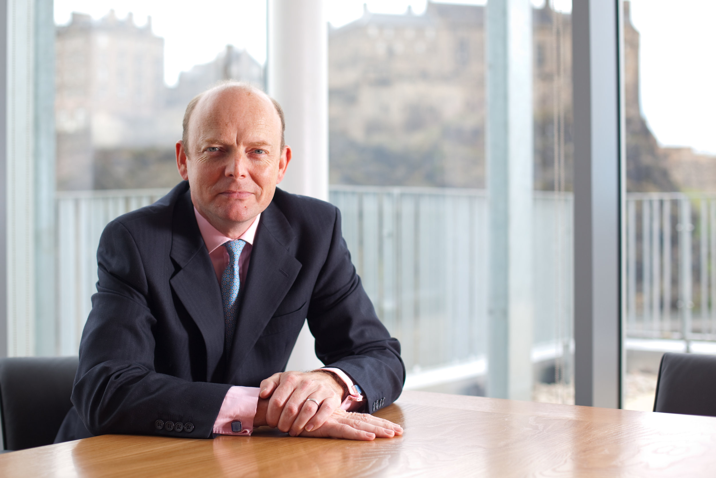 Rob Cormie, formerly of Green Investment Bank joins Faraday Grid as COO. Picture Nick Mailer