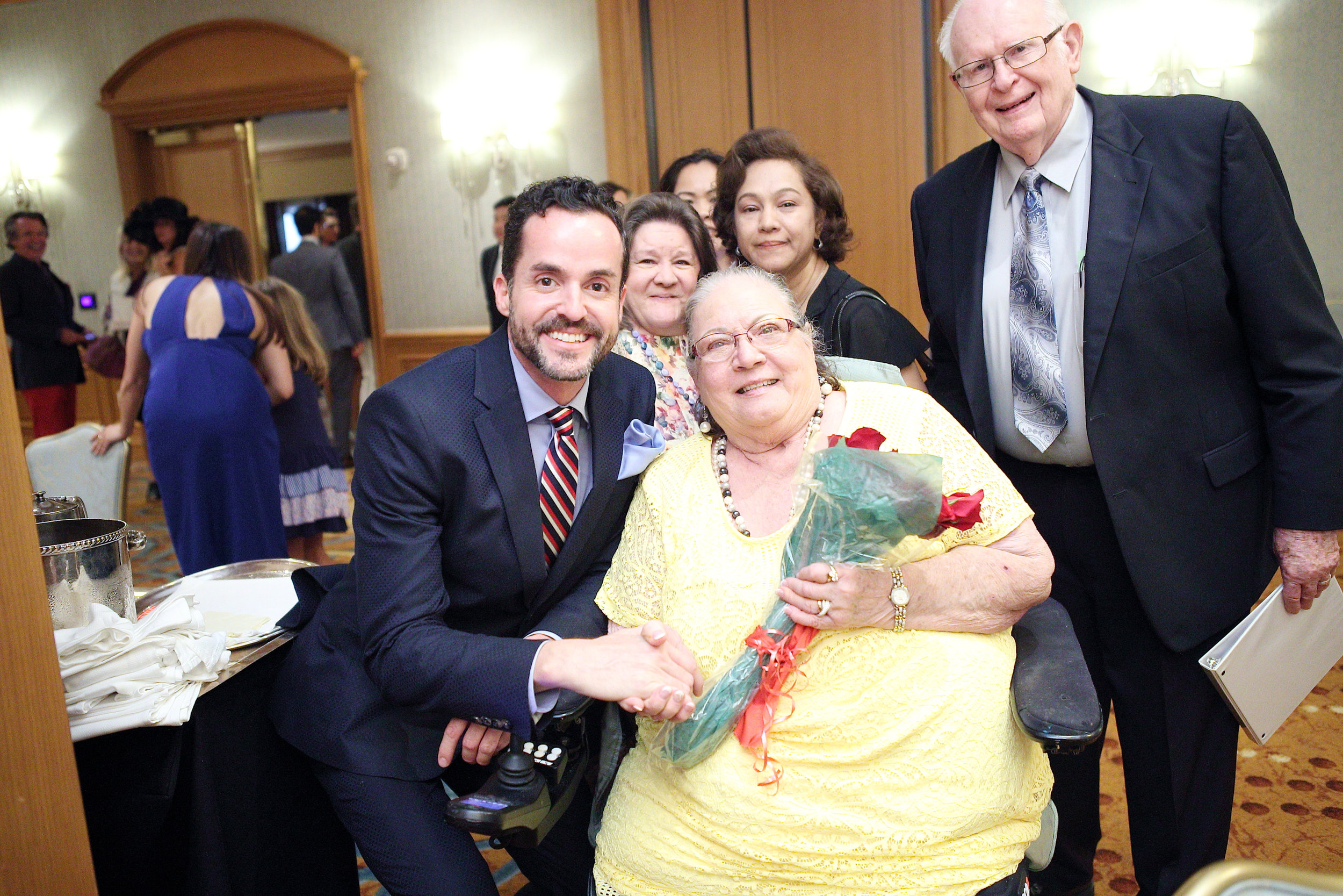 Connie Warner  (1933-May 4,2018) - guest speaker at our 2017 Inaugural Jazz Luncheon at the St. Regis Hotel. Connie was a bilateral amputee who declared her right to be a part of a future senior playground