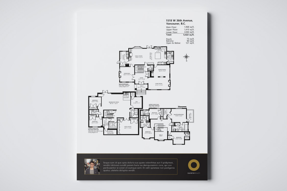 FLOOR PLAN - Using professionals to measure your property with the industry-leading technology ensures the most accurate results, while also providing potential buyers with an important visual and decision-making tool.