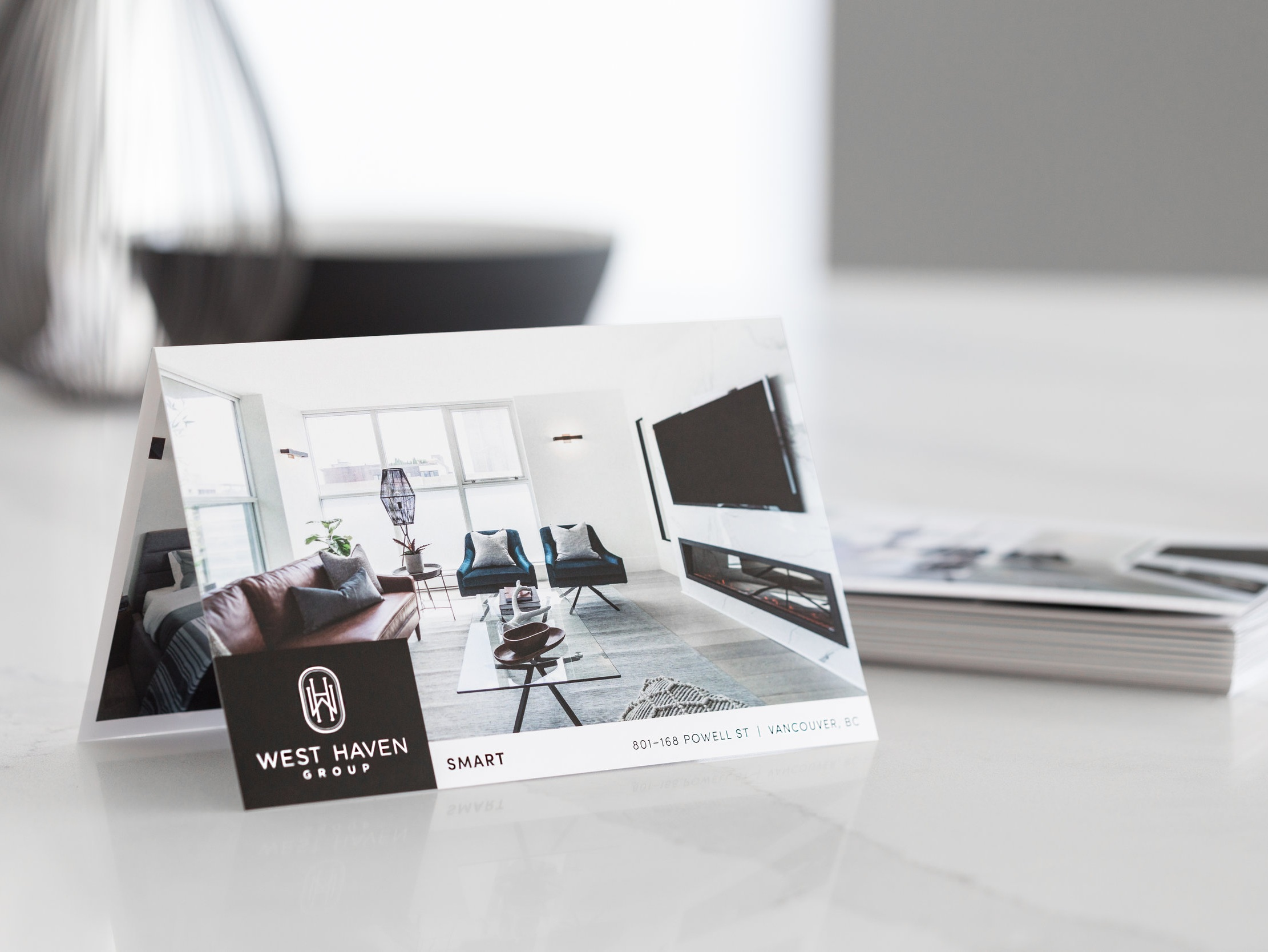 AGENCY CALIBRE MATERIALS - Prospective buyers' experiences from online to and in-person showing should be elevated and professional. This influences perception of value in the seller's favour.