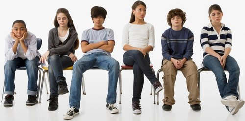 Slouched kids become slumped adults in chronic pain.