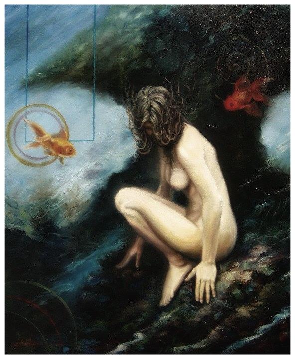 PROFUNDA GEA  Oil / canvas  36 X 24 inches  2007