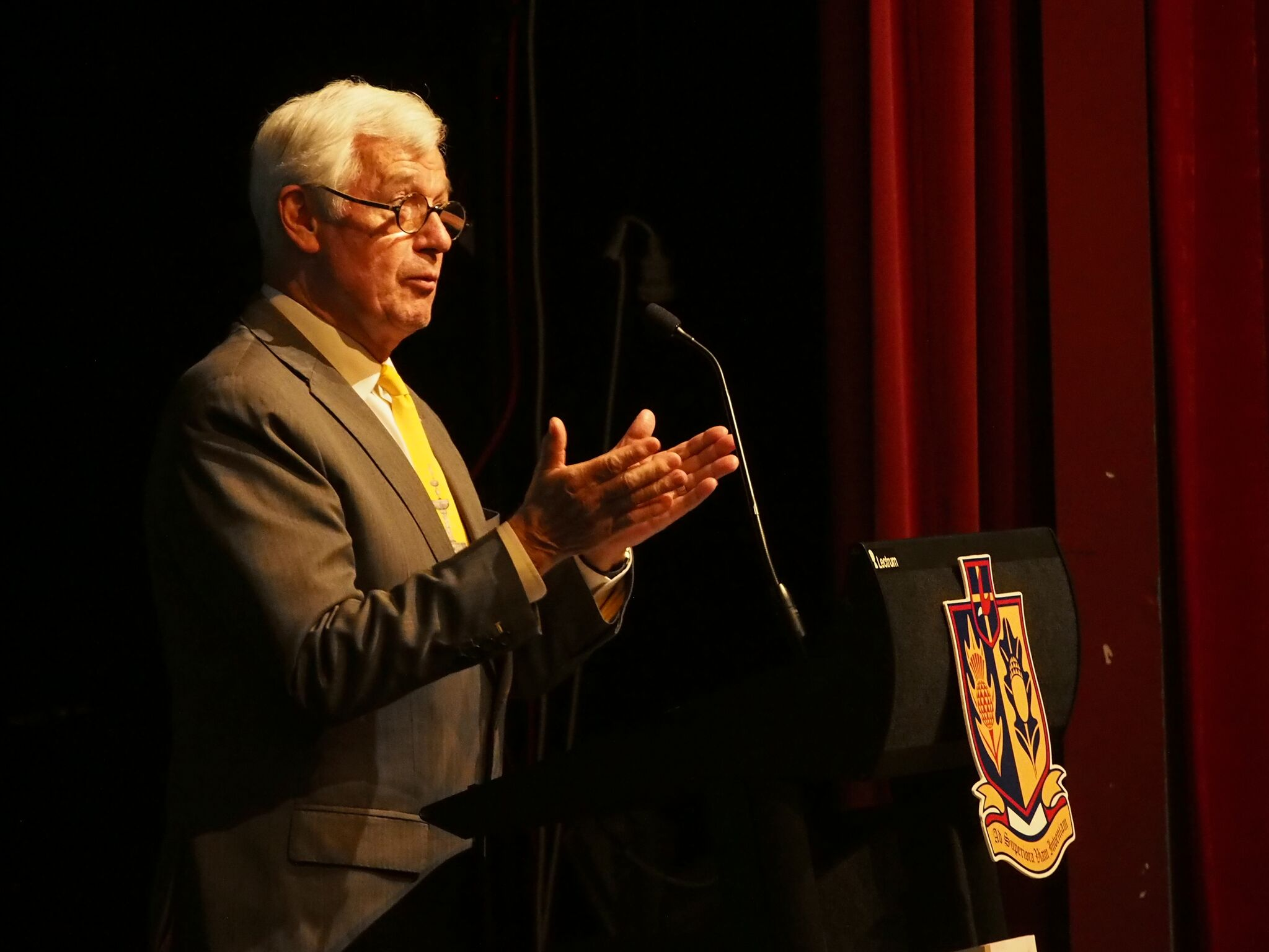 Julian Burnside AO QC at Launceston College