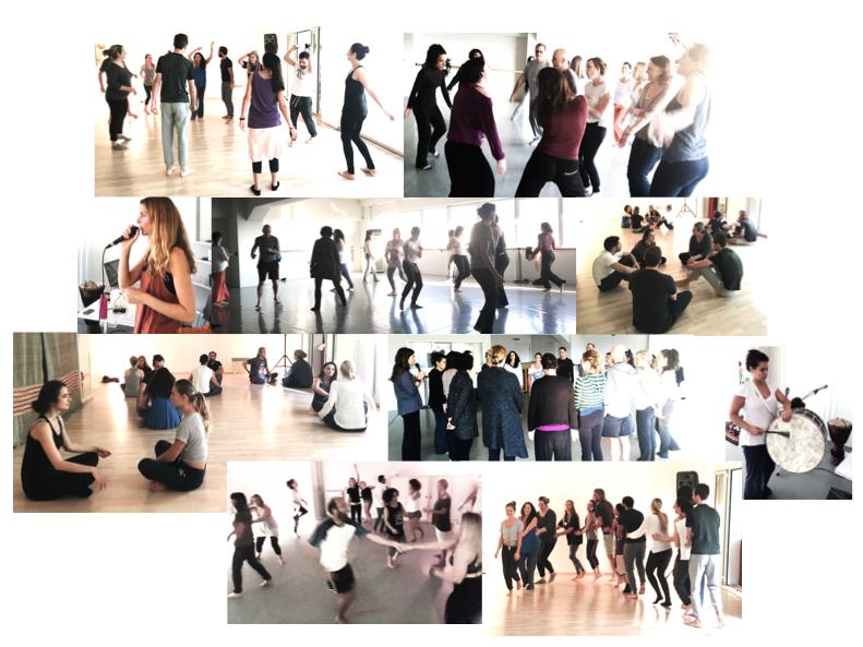 Open Floor classes Greece