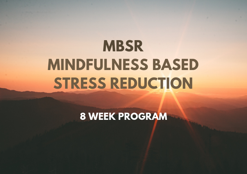 MBSR Mindfulness Based Stress Reduction 8 week program Ελλάδα