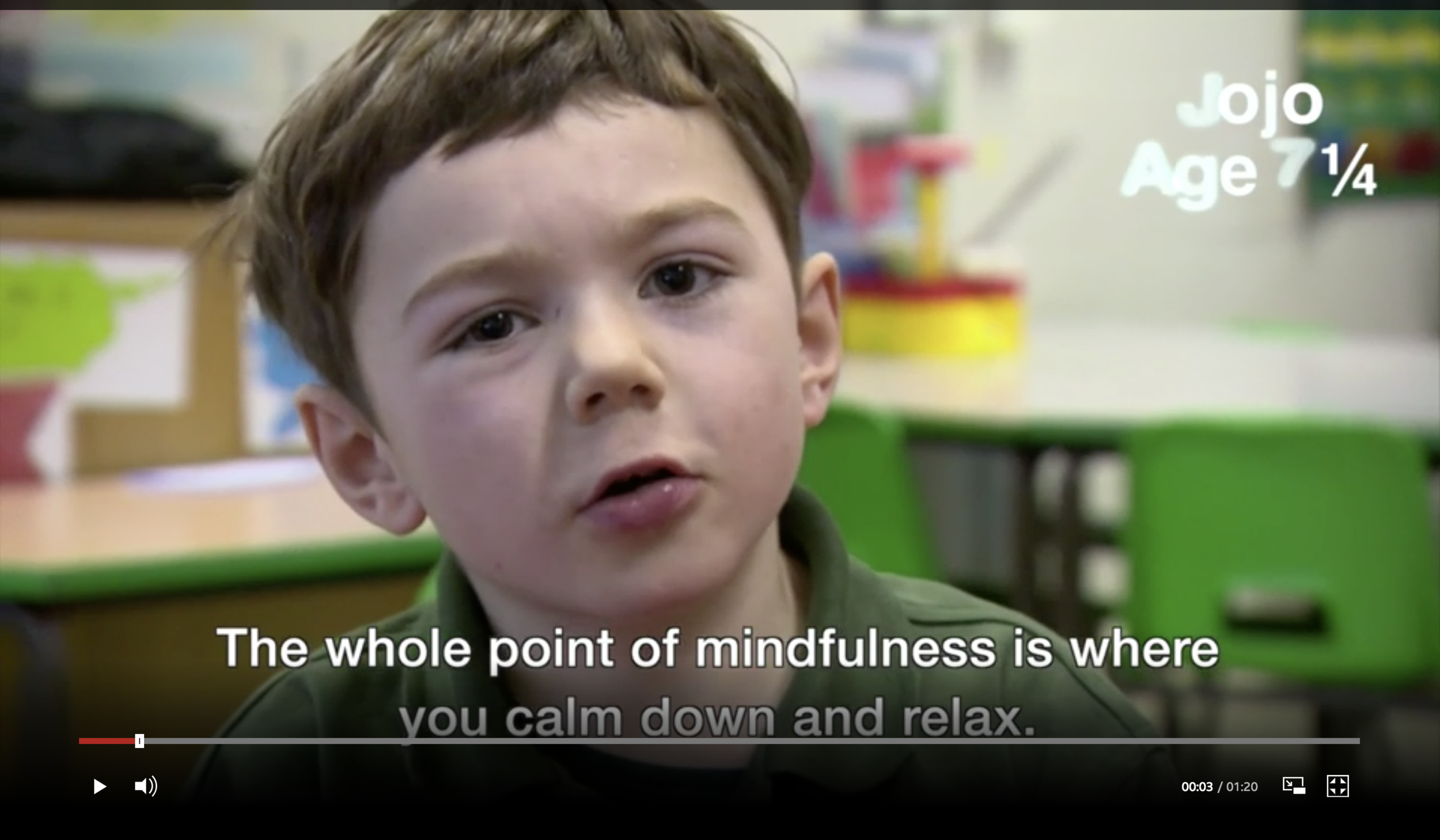 ασκήσεις mindfulness για παιδιά