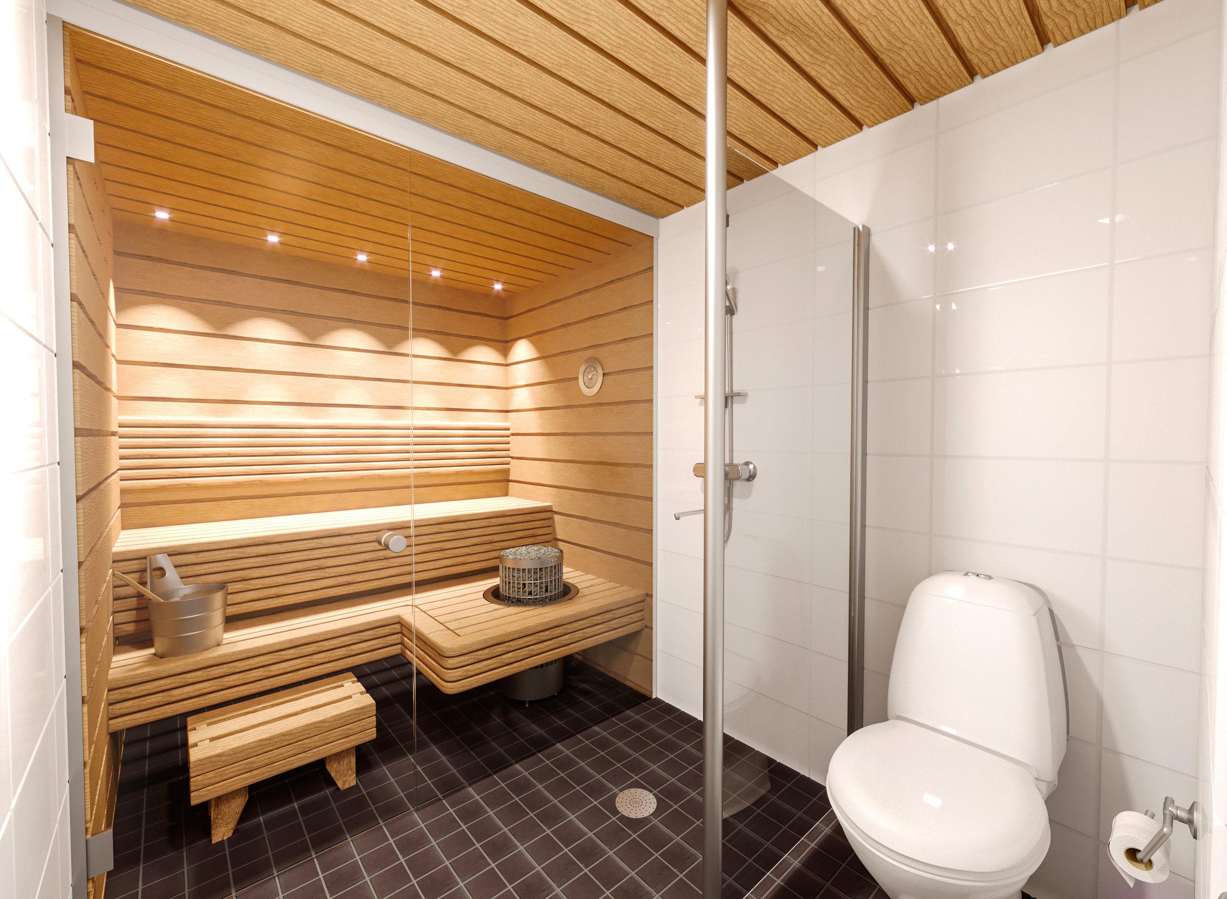 Sauna 91,5 m2