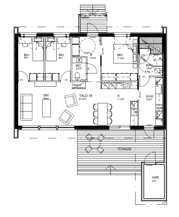 91,5 m2