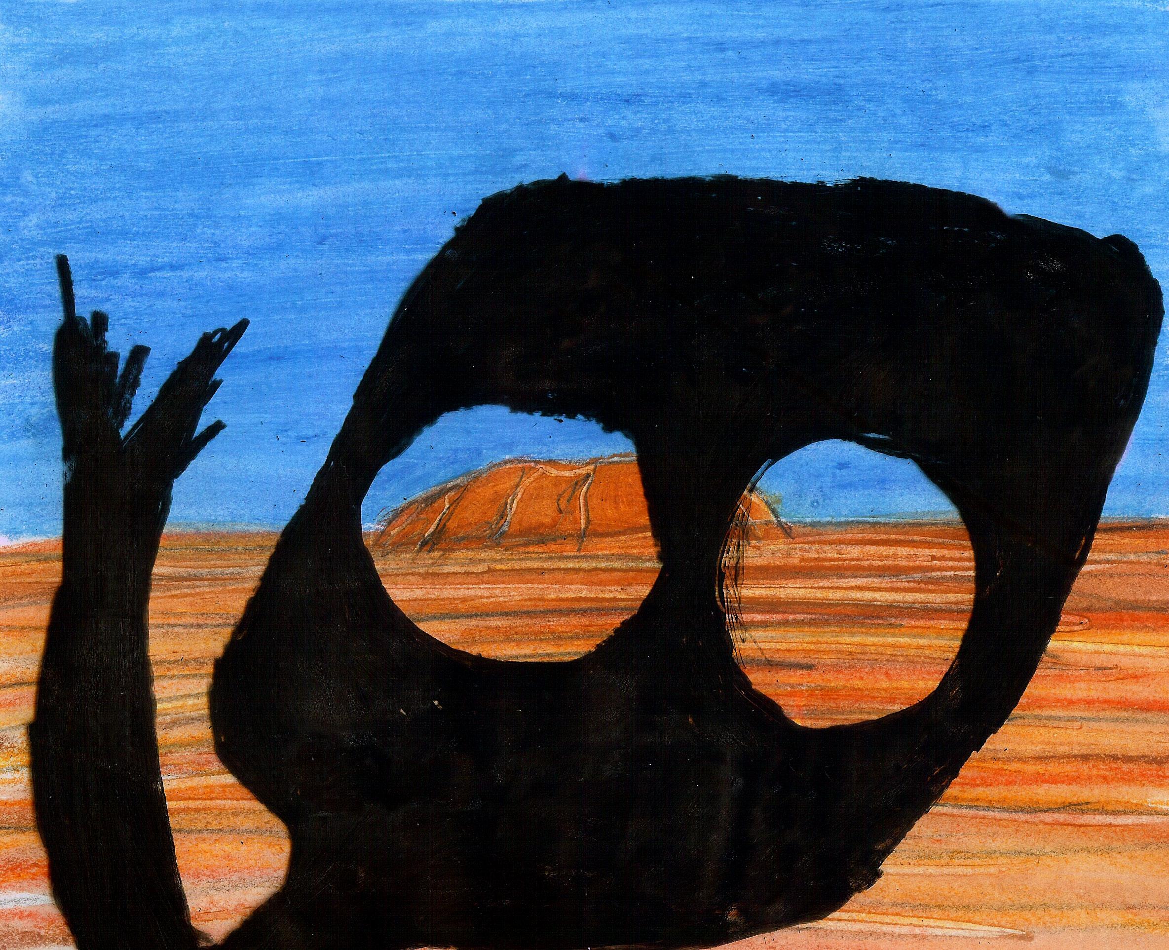 Kathy Smith | Ayers Rock | 1985 | Super8 | 0:50