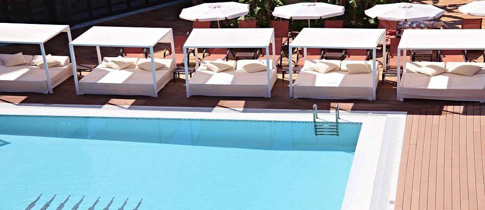 Pool, Serrano Palace.