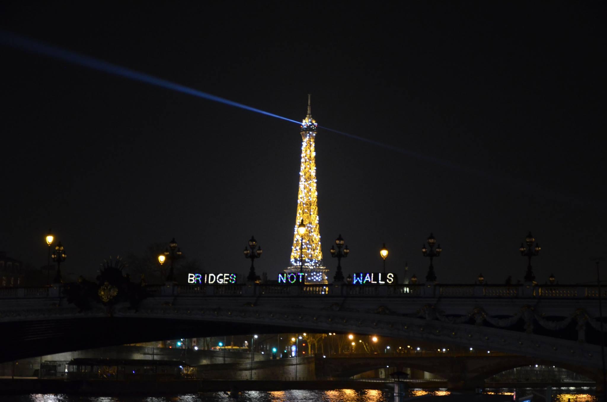 Paris action.Photo by J.E.D.I. for Climate and Lumen Paris