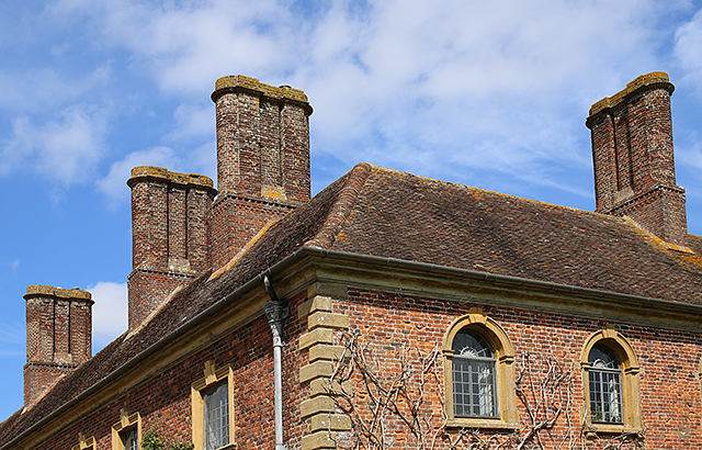Barrington-Court-brick-chimneys-somerset-architecture