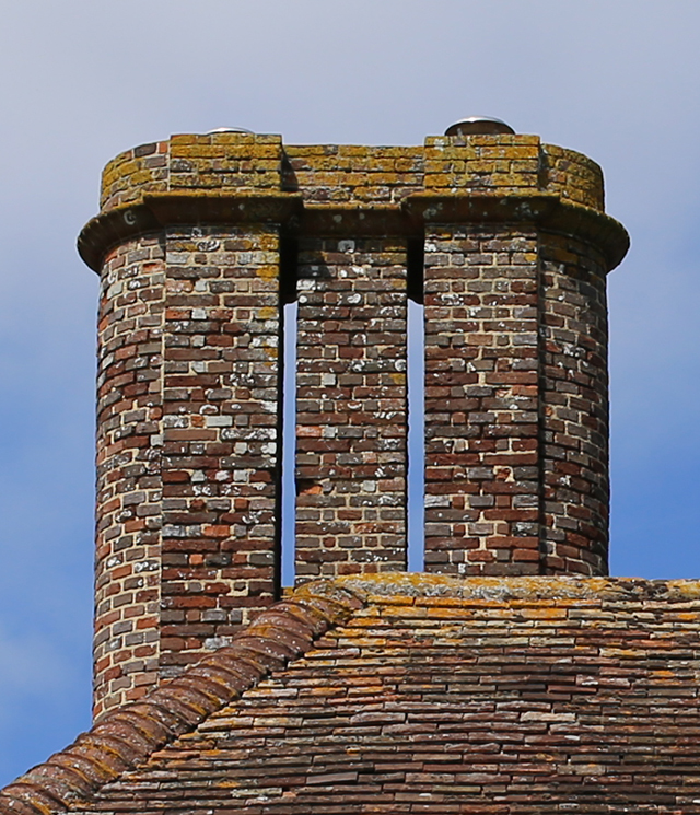 Barrington-Court-brick-chimney-2-somerset-architecture