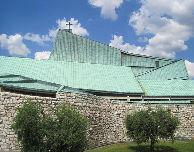 Michelucci-Church-Florence-San-Giovanni-Battista-Au