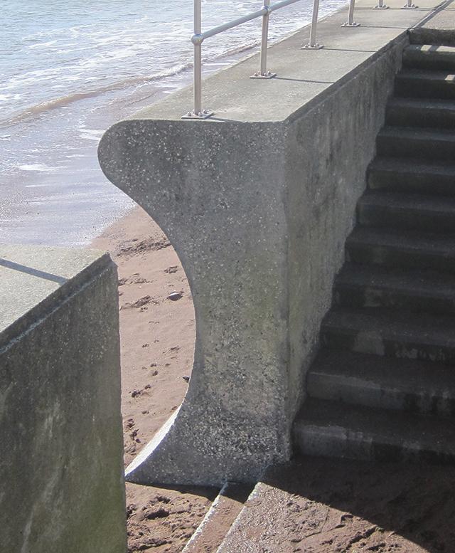 Sea wall: