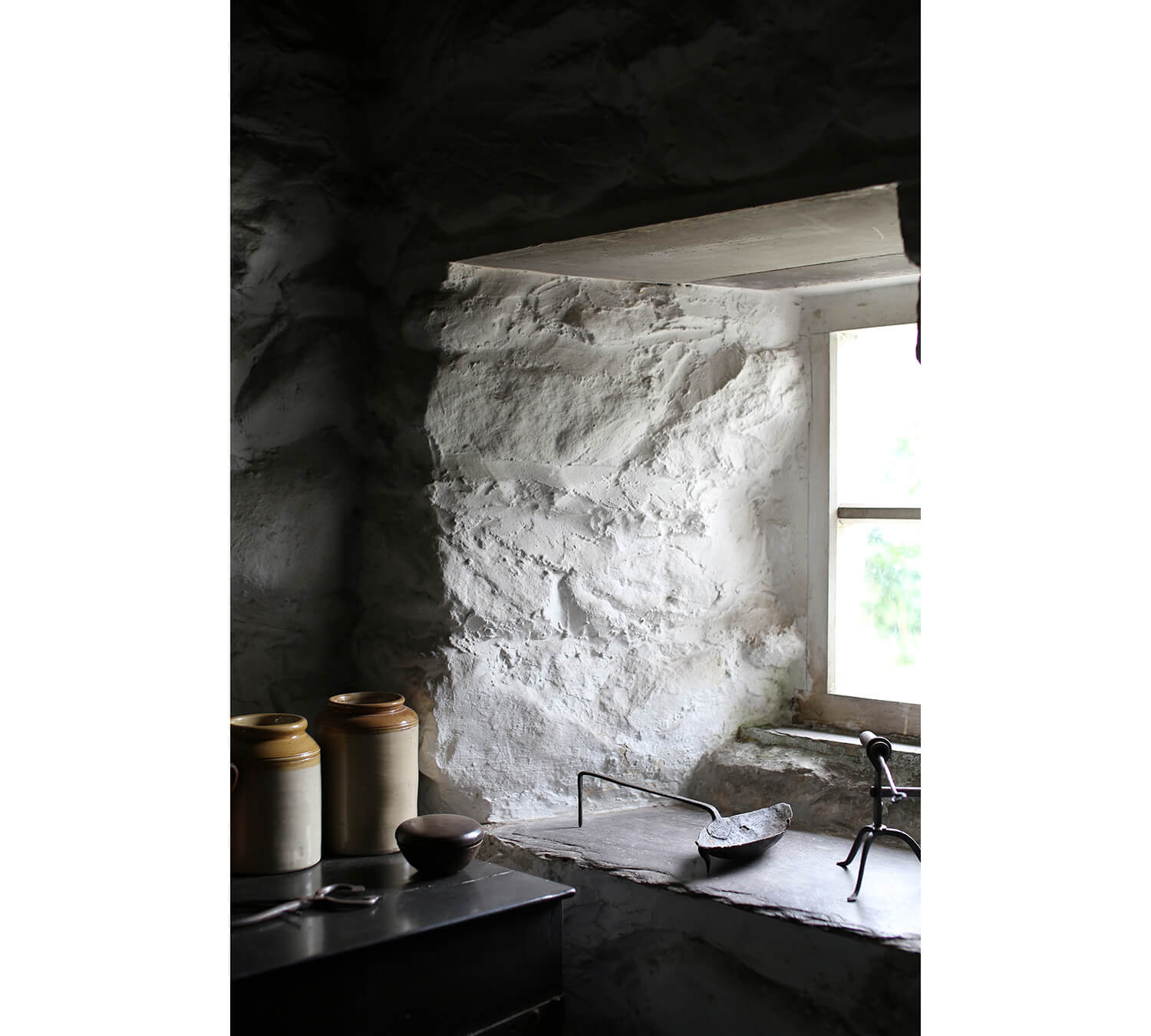 Llainfadyn-Cottage-Window-St Fagans-Welsh-Vernacular